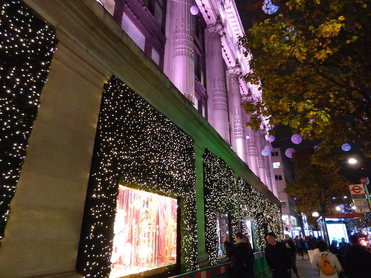 Selfridges Christmas lights 2018: how to see London's Christmas lights by bus