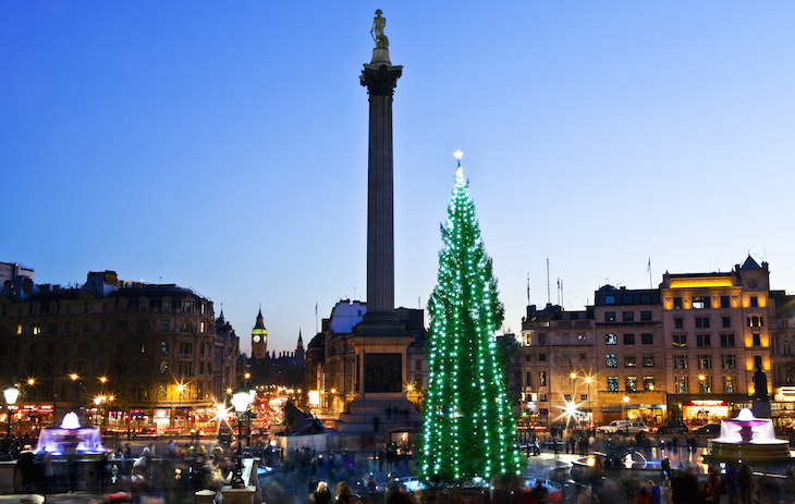 Trafalgar Square Christmas: 2018 switching on date announced