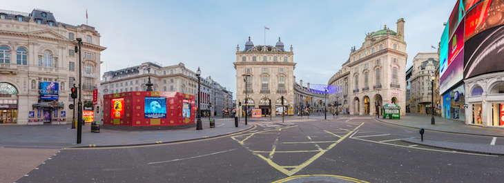 Piccadilly Circus on Christmas Day: what's open in London on Christmas Day