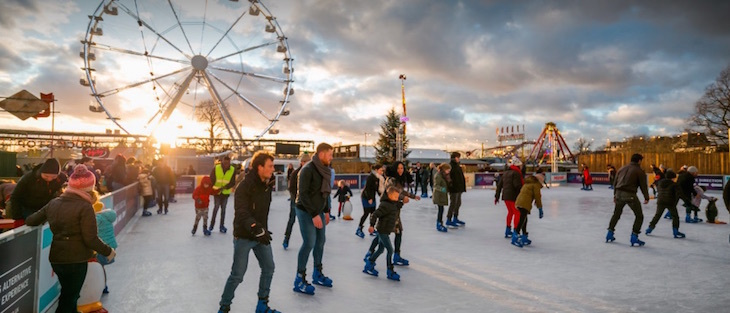 Ice rink at Winterville 2018: where to go ice skating in London Christmas 2018