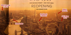 London Skyline Is All Wrong In This Advert... And We Bet There's A Hidden Agenda