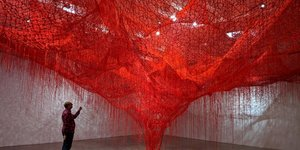 No Kusama Tickets? Chiharu Shiota's Exhibition Is Just As Instagrammable