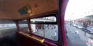 Ding Ding! All Aboard For An Interactive Routemaster Bus Ride Through London