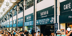 A Time Out Food Market Is Opening In The Former Waterloo Eurostar Terminal
