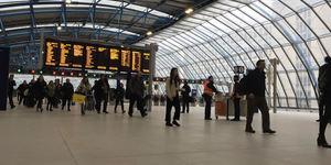 Old Eurostar Platforms Reopen At Waterloo Station