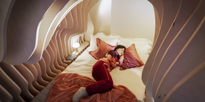 Sleep Like A Baby In This 'Womb Room' In East London