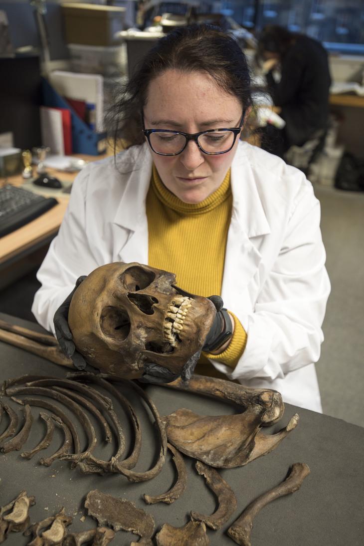 Medieval Skeleton Found Face Down In Thames Still