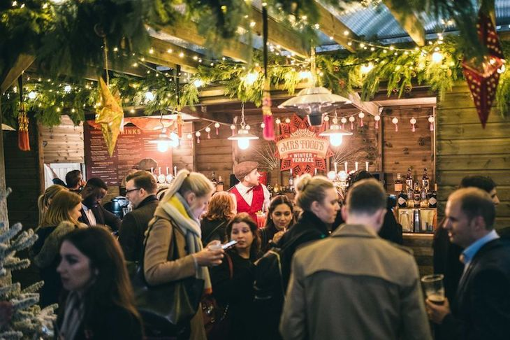 The Winter Forest and Mrs Fogg's Winter Terrace at Broadgate Circle: the perfect festive pop-up