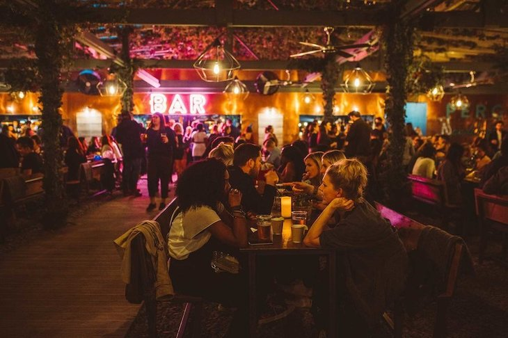 Pergola on the Roof Paddington: Best winter and Christmas pop-ups in London