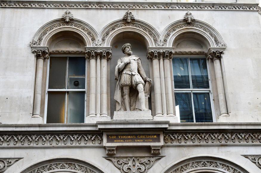 Thomas Gresham statue