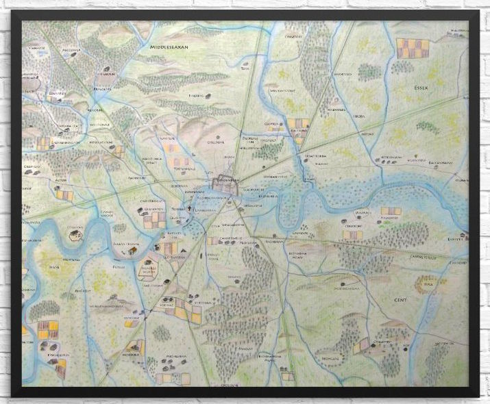 Get Prints Of Anglo-Saxon London And Fake Britain Maps ... on where to buy postcards, where to travel, parts a map, where to buy carbon paper, where to buy telescope lenses, where to buy compass, where to buy dice, where to buy paracord, where to buy nylon cord, where to buy music, where to buy money belt, where to buy illustrations, where to buy hand warmers, where to buy space blanket, us world map, flu outbreak map, us and mexico map, where to buy large us map,