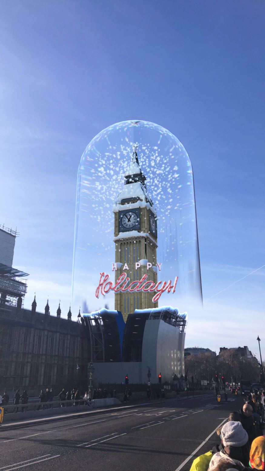 Make Big Ben Christmassy With This Festive Snapchat Lens