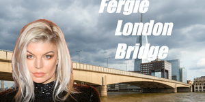 Fergie's London Bridge Makes The Most Basic American-Tourist-In-London Mistake