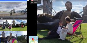 The Jeff Goldblum Statue Has Been Immortalised On Google Maps