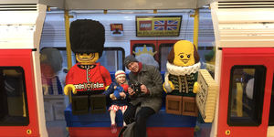 Ride A Lego Tube Train At The Lego Store