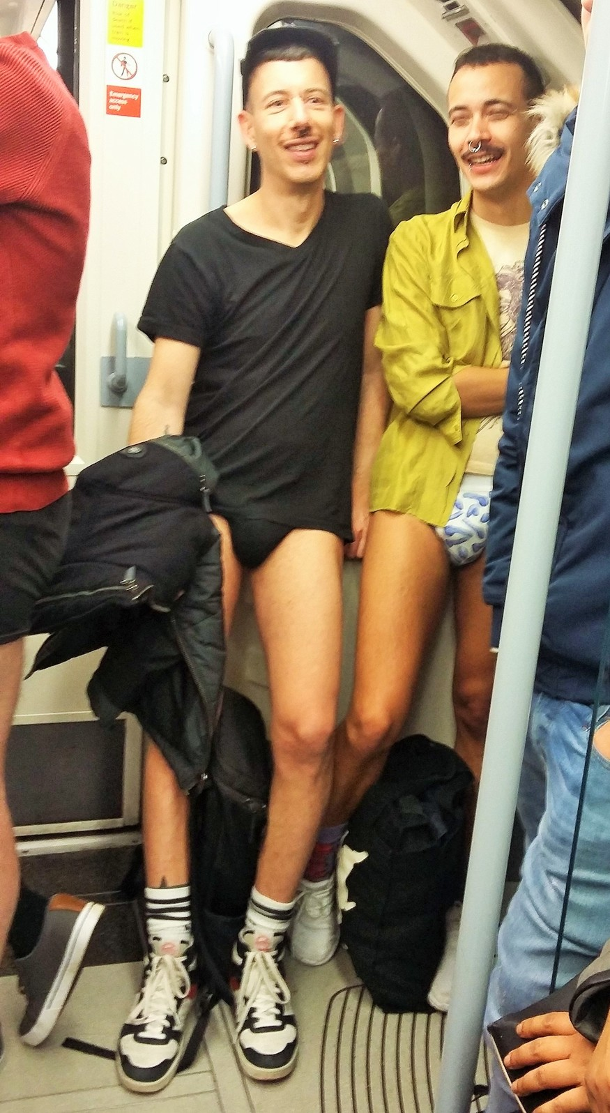 Meet The Londoners Who Stripped Off For The No Trousers Tube Ride