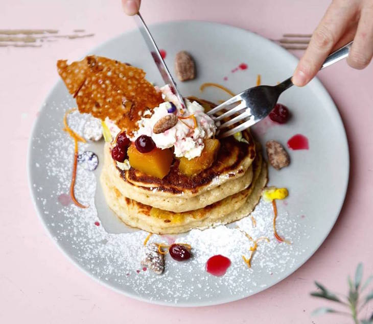 Where to get the best pancakes for breakfast, brunch, lunch or dinner in London: pancakes at Where The Pancakes Are