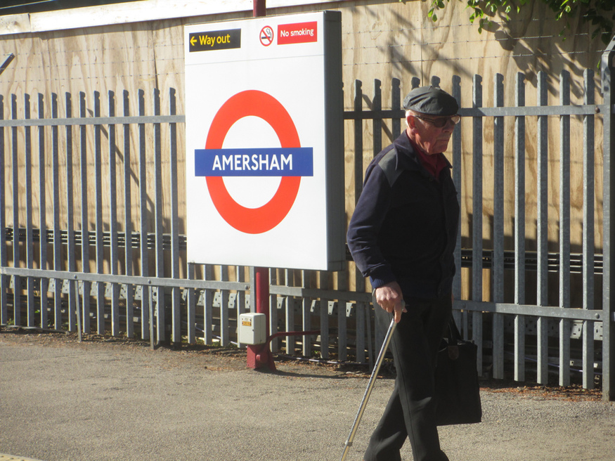 Amersham station.