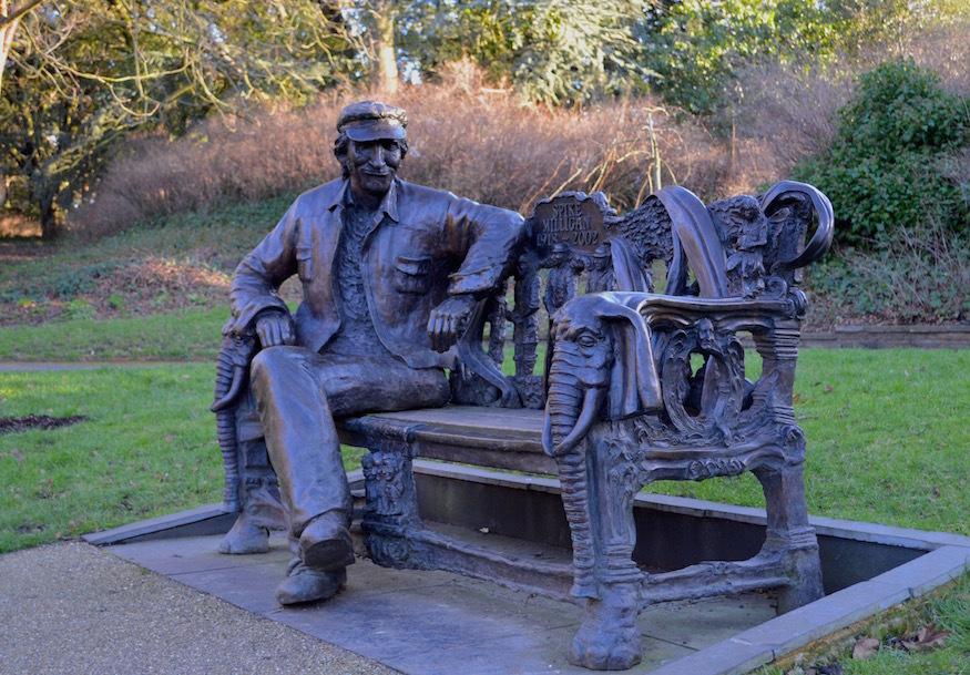 Spike Milligan bench.