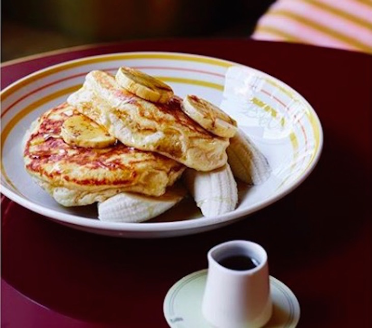 Where to get the best pancakes in London: pancakes at Granger & Co