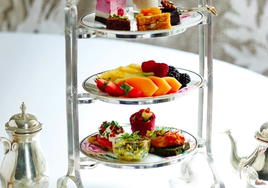 Sugar free cake, sweets and afternoon teas in London - Tea Tox at Brown's Hotel