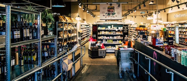 Best vegan supermarkets and shops in London: Spar in hackney