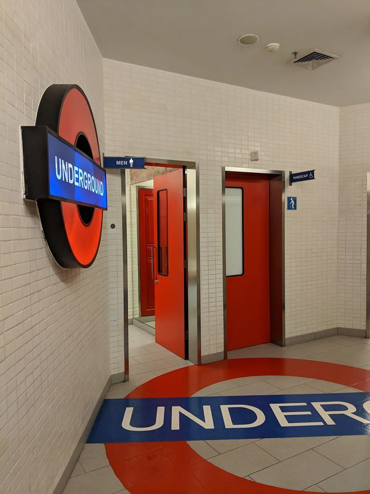 Seen These Tube Themed Toilets Londonist