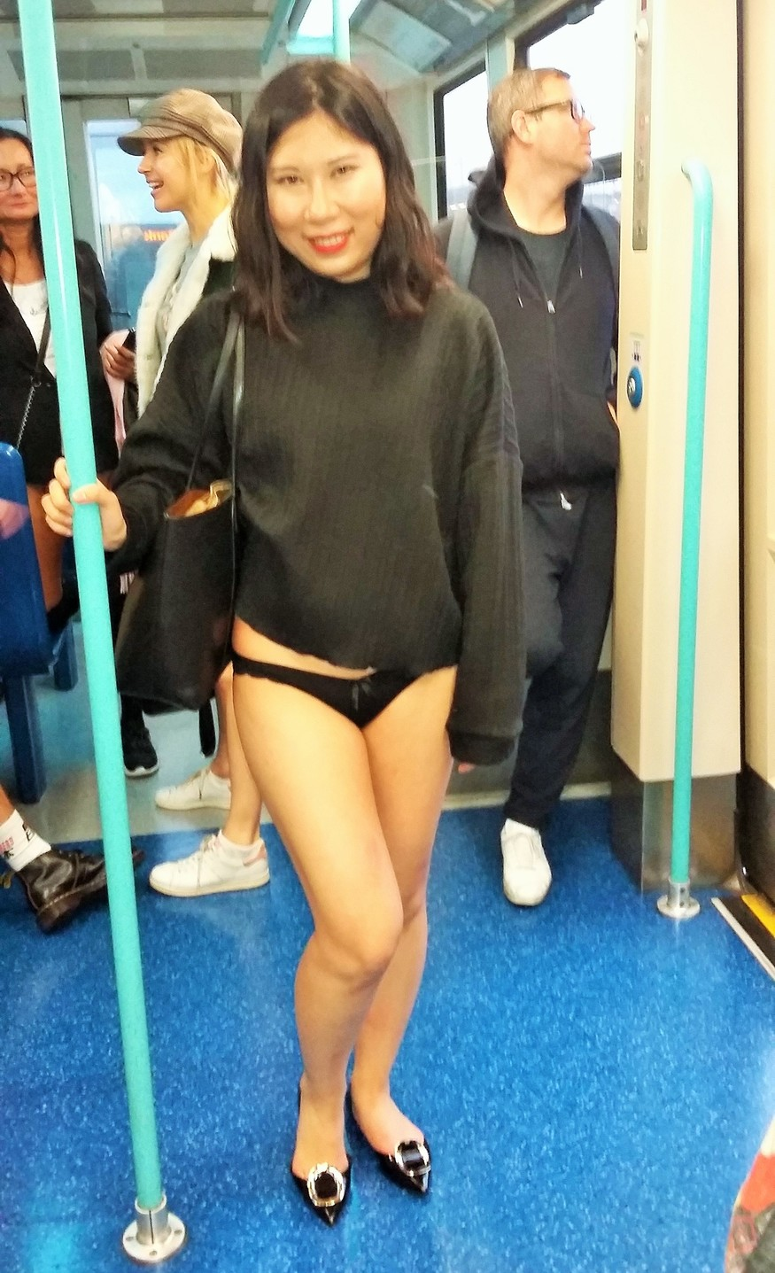 82d5b07a385c Meet The Londoners Who Stripped Off For The No Trousers Tube Ride ...