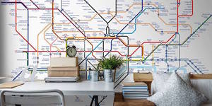 Introducing Tube Map Crossover #1,304... Tube Wallpaper