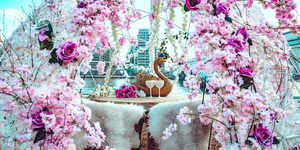 Cherry Blossom Igloos Are Coming To London For Valentine's Day
