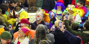 This May Just Be The Weirdest Church Service You'll Ever Go To