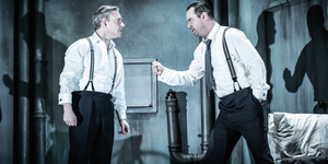 Theatre Review: Danny Dyer And Martin Freeman Save Pinter Seven