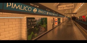 We're Geeking Out Over This Minecraft Recreation Of Pimlico Station