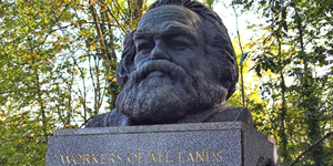 Vandals Strike Again At Karl Marx Memorial