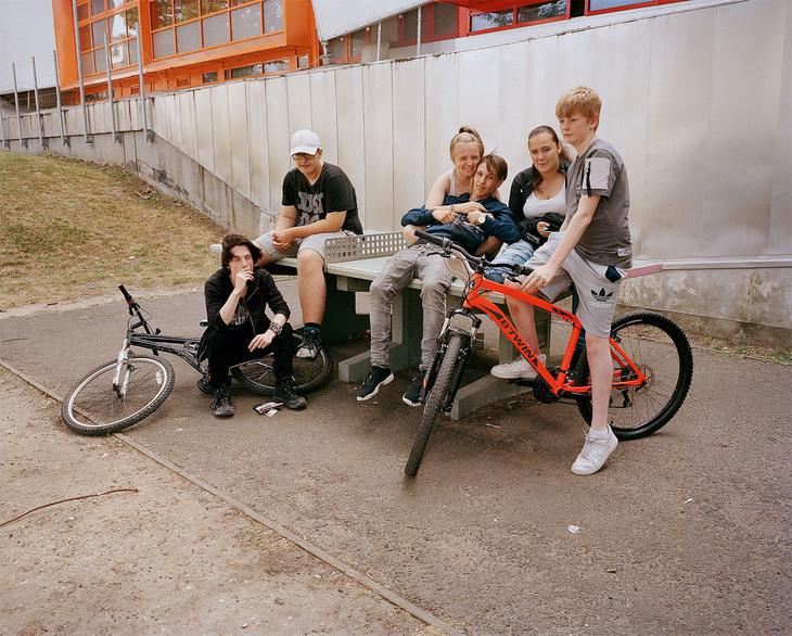 Teenagers Thamesmead