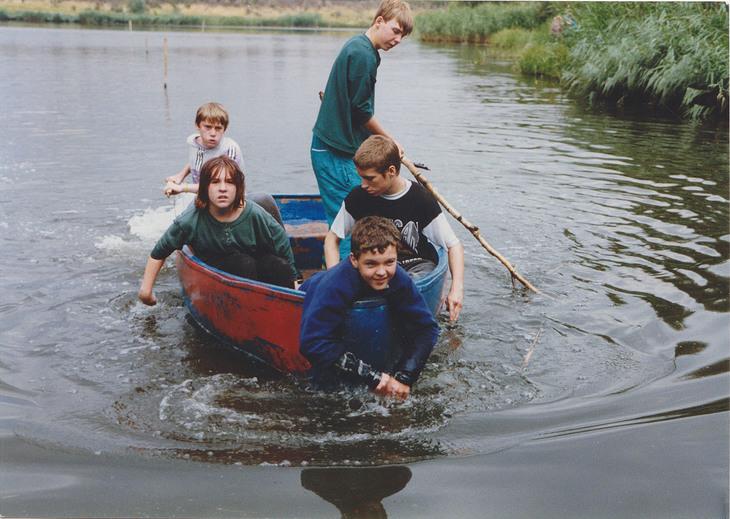 Thamesmead lake