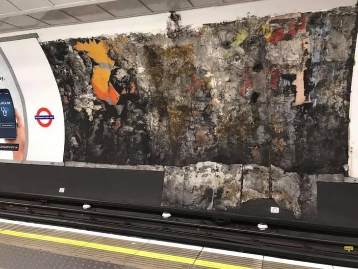Pollock on the london underground