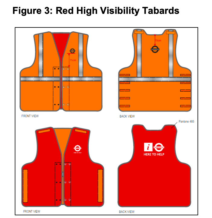We've Reviewed Those Bright Red TfL Vests    And It Doesn't Make For