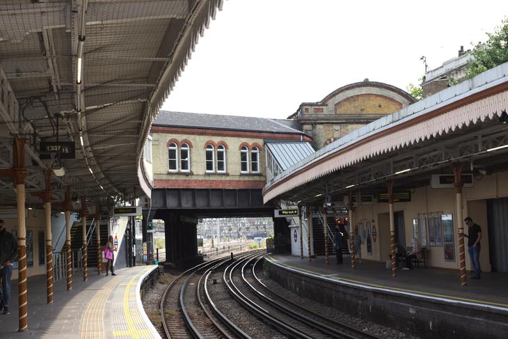 Westbourne Park platforms