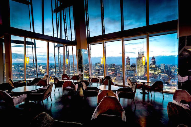 Mother's Day idea: dine with a view at one of London's tallest restaurants