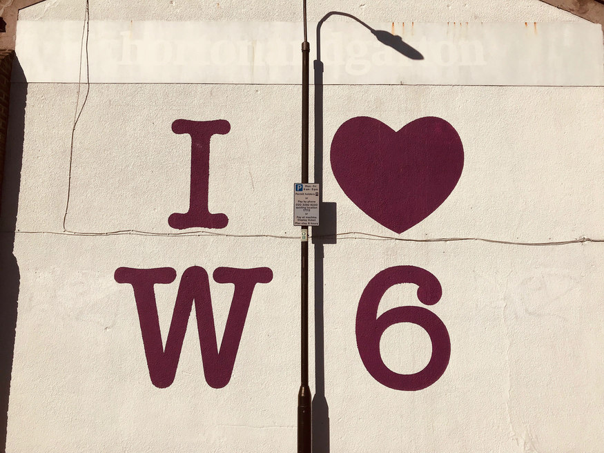 I love W6 postcode