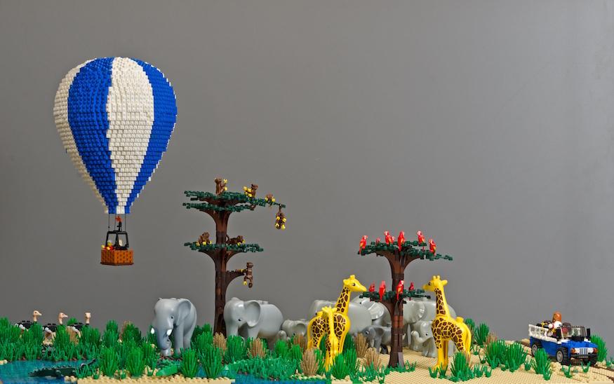 Lego safari.