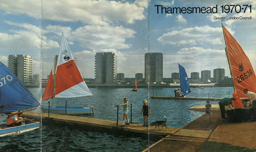 Southmere Lake, Thamesmead, GLC
