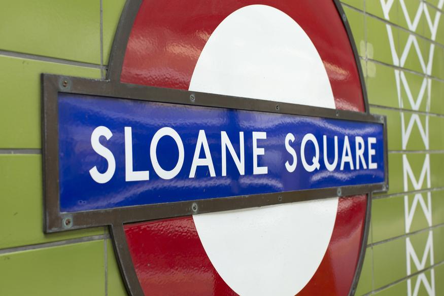 Sloane Square tube