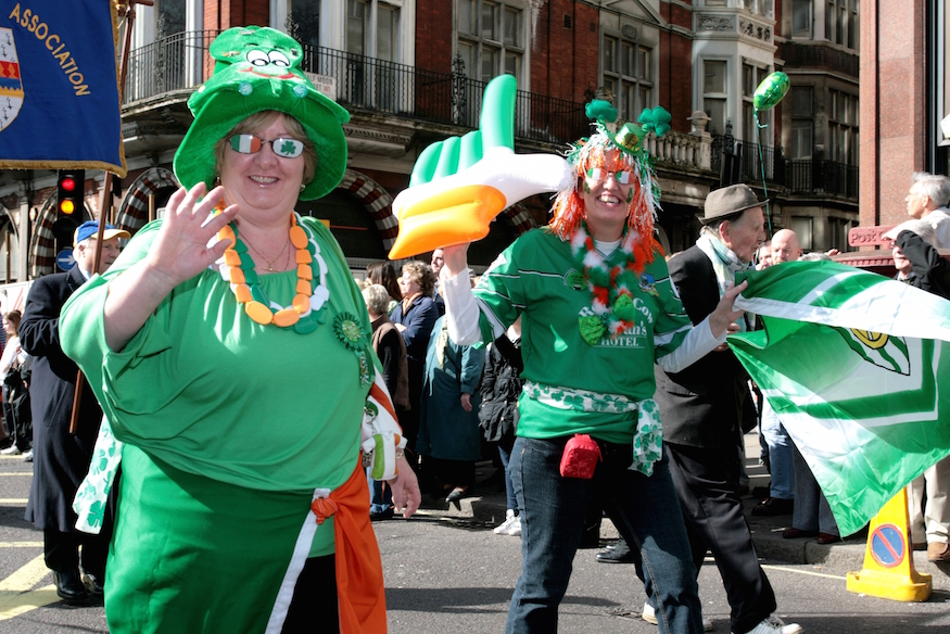 2f5292184de St Patrick s Day 2019 In London  Parade