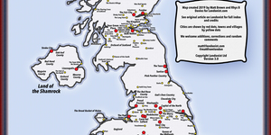 Blighty: A Map Of Nicknames For British Cities And Towns