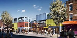 Camden's Getting A New Market... And It's Made From Shipping Containers