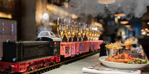 First Class! This Brunch Delivers You Bottomless Champagne By Train