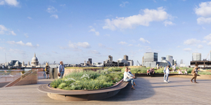 A New Riverside Roof Garden Is Coming To London