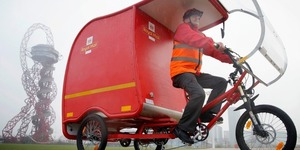Will You Be Getting Your Post From One Of These Royal Mail E-Trikes?